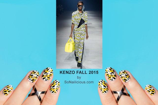 Kenzo Nails Fall 2015