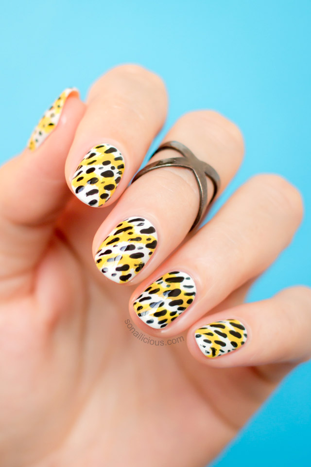 Kenzo Nails || NAFW 2015, Day 1