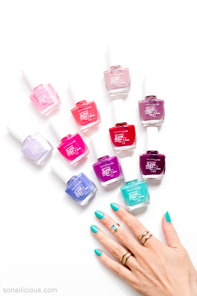 Maybelline superstay gel polish review