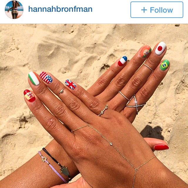 Nails By Mei for Hannah Bronfman