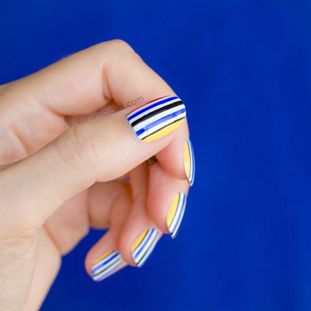 Blue and yellow nail art gallery nail art and nail design ideas nail art in yellow colour gallery nail art and nail design ideas opening ceremony fall 2015 prinsesfo Choice Image
