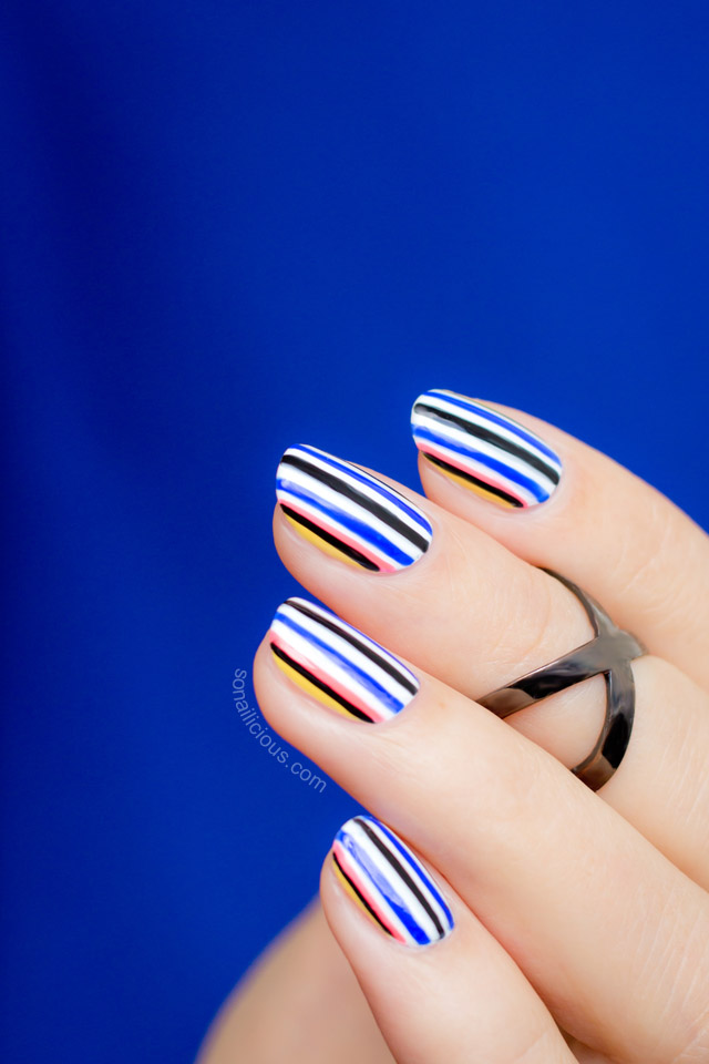 Opening Ceremony Fall 2015 nail art