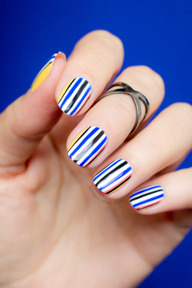 Opening Ceremony Fall 2015 Nail Art || NAFW 2015, Day 7