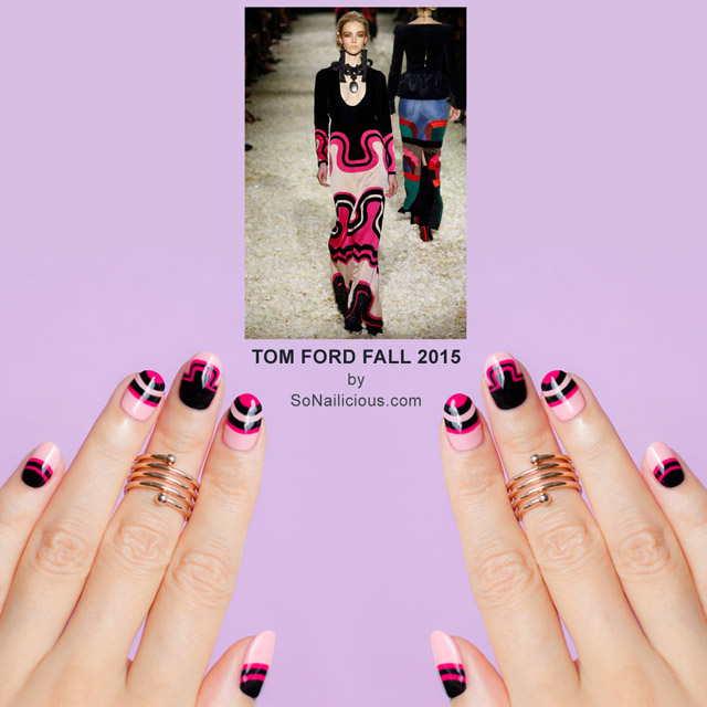 Tom Ford Fall 2015 nails