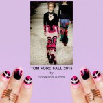 NAFW 2015 Day 6 – Tom Ford Fall 2015 Inspired Nails