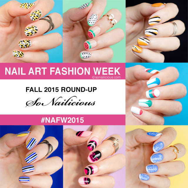 nail art fashion week fall 2015 sonailicious