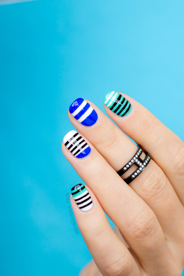 MBFWA Nails #2: Alexander Wang Inspired Nail Art