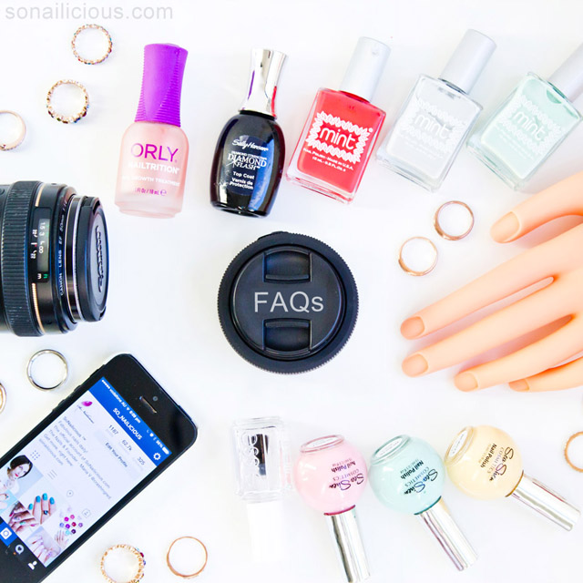 Everything about sonailicious: blogging, photography, nail art
