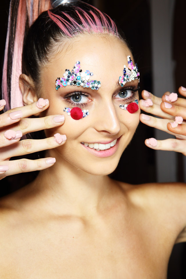 3d nails Bondi Bather MBFWA 2015