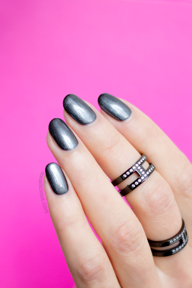 The Best Gunmetal Nail Polish You Ll Ever Use