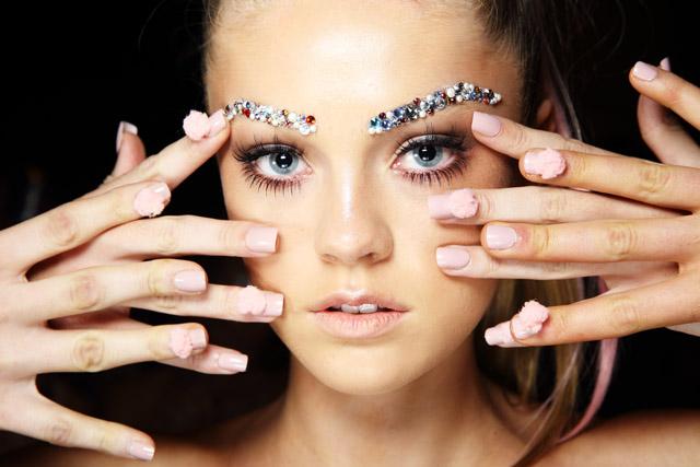 nail trends spring summer 2015 mbfwa 2015