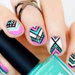 Throwback Thursday: Aztec Nail Design for Short Nails