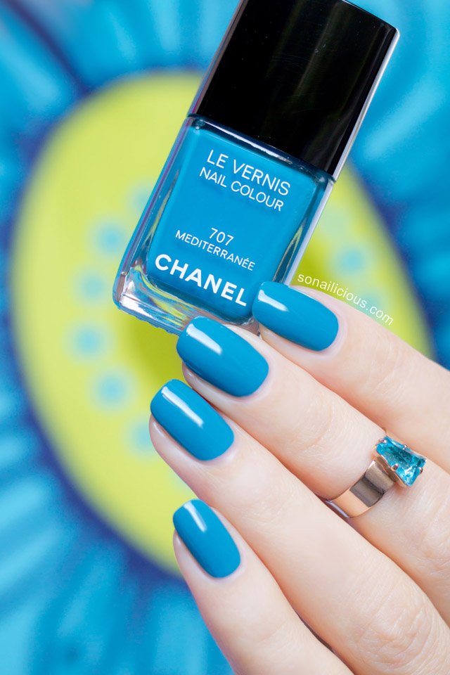 Chanel Mediterranee swatches review