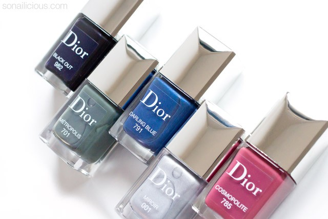 DIOR Cosmopolite Fall 2015 collection review swatches