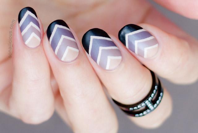 Roman holiday gradient nail art tutorial solutioingenieria Gallery