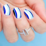 Tutorial: 6 Shades of Blue Nail Art