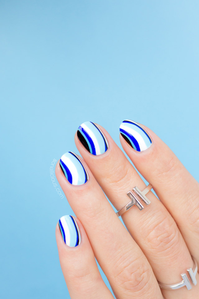 nail art in 5 minutes