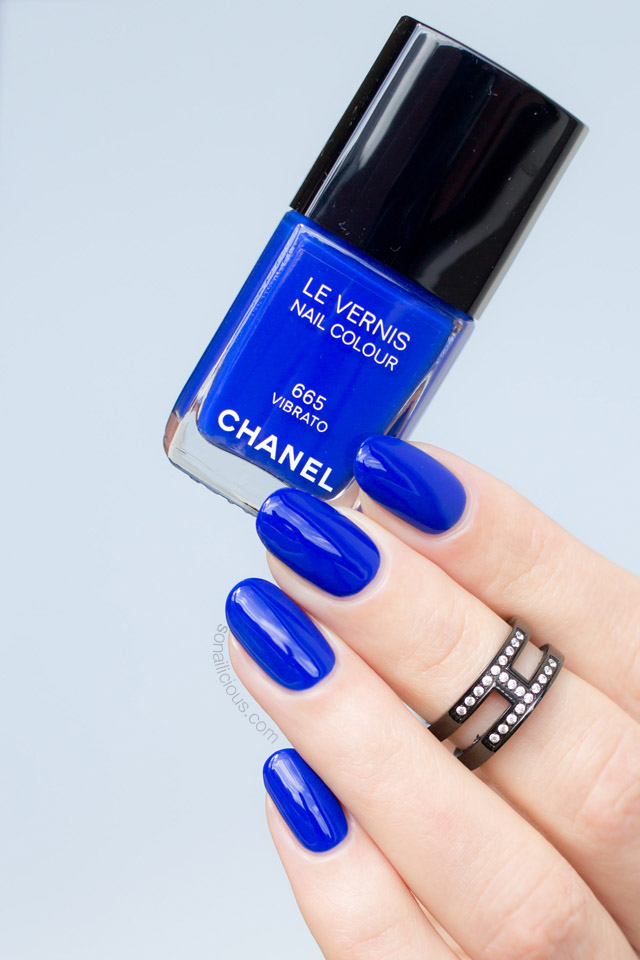 chanel vibrato swatches
