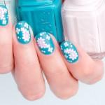 Paisley Nail Art For Short Nails. Plus, 4 Tips For Nailing It – Day 2