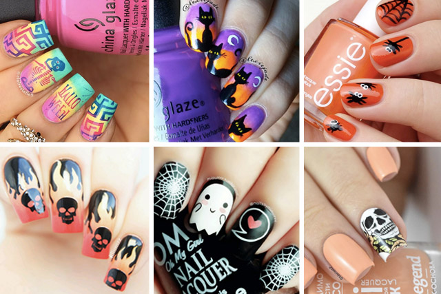 - 20 Terribly Beautiful Halloween Nail Art Designs