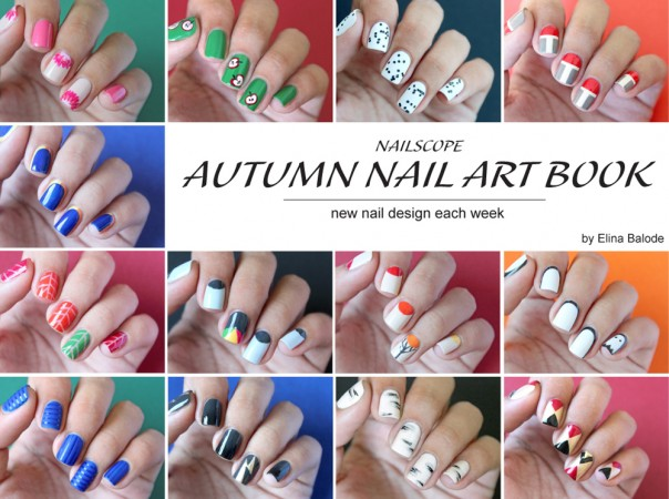 autumn nail art book