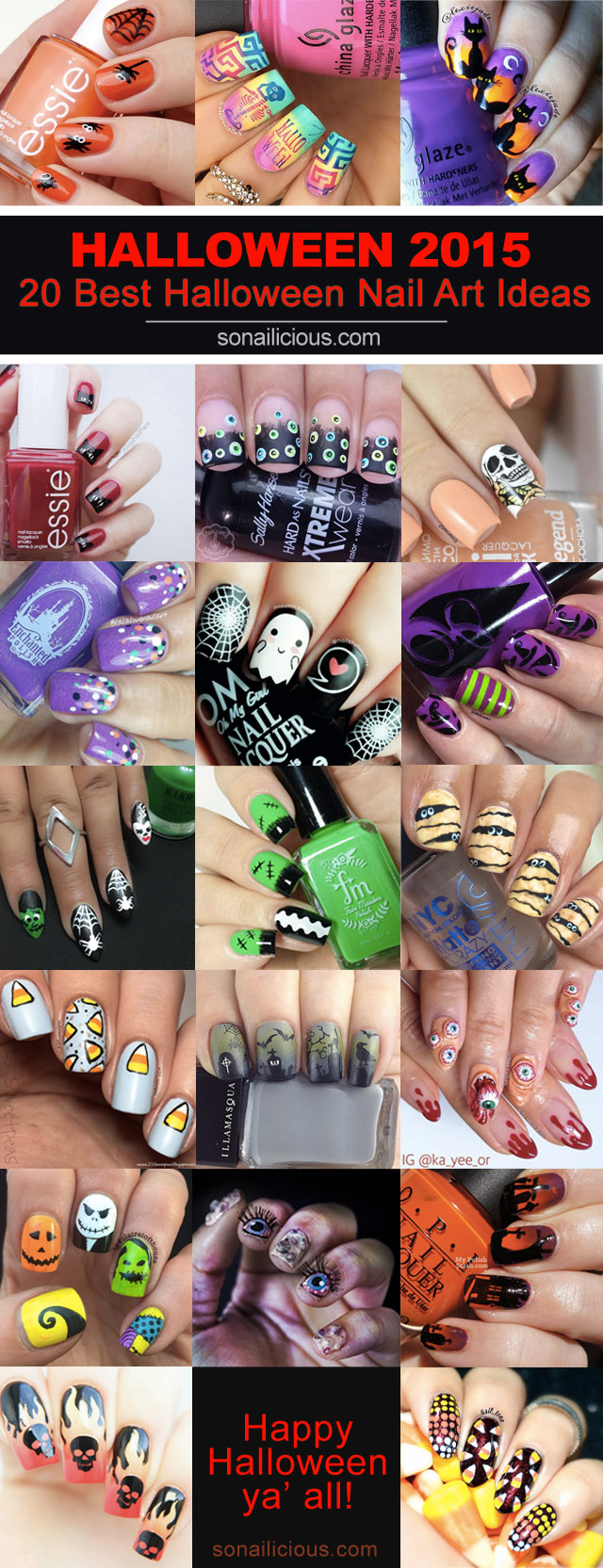 best halloween nail art designs