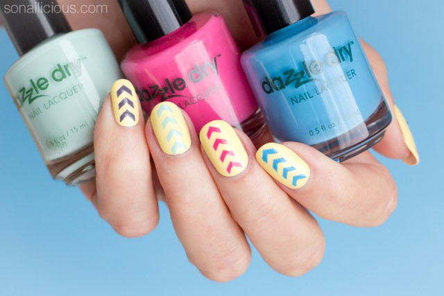 Dazzle dry polish review swatches