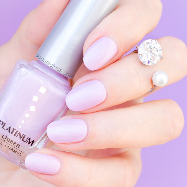 platinum polish light lavender