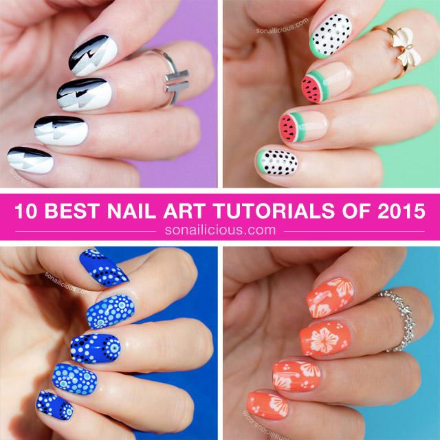 10 best nail tutorials by @so_nailicious