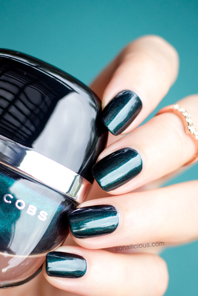 dark emerald green nail polish marc jacobs enamored sally