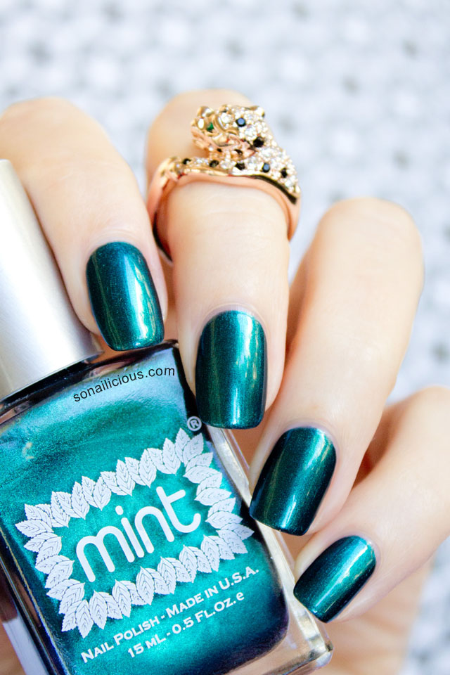 mint polish czarina