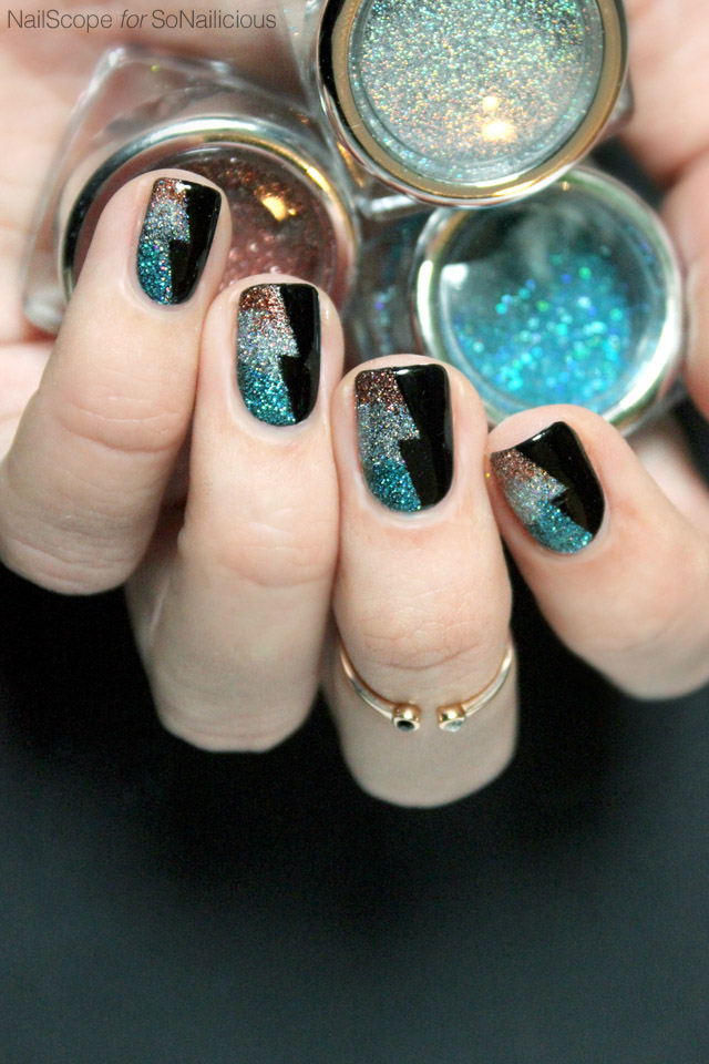 Sparkling New Year S Eve Nails Tutorial: Sparkling New Year's Eve Nails [TUTORIAL]