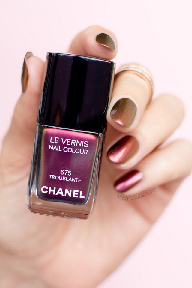 chanel troublante le vernis review