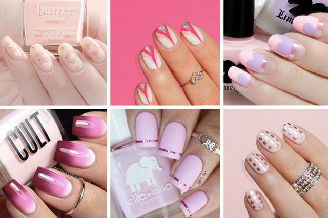 10 stunning pink nail designs perfect for valentines day prinsesfo Choice Image
