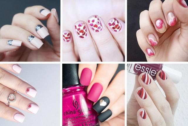 20 elegant valentine's day nail designs