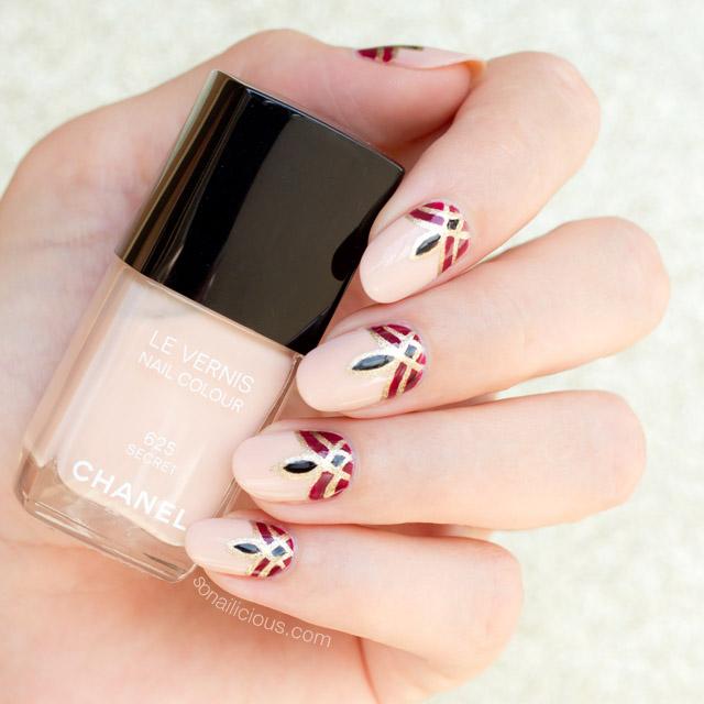 dubai nails, chanel secret