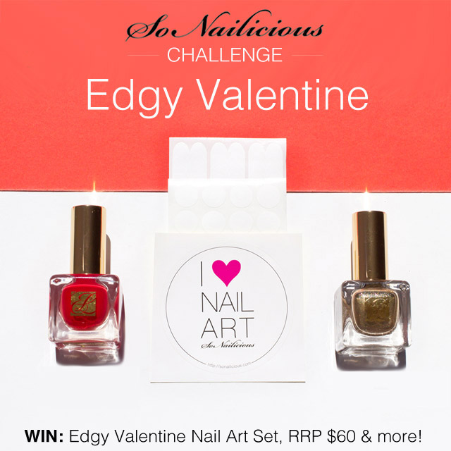 edgy valentine challenge #sonailicious
