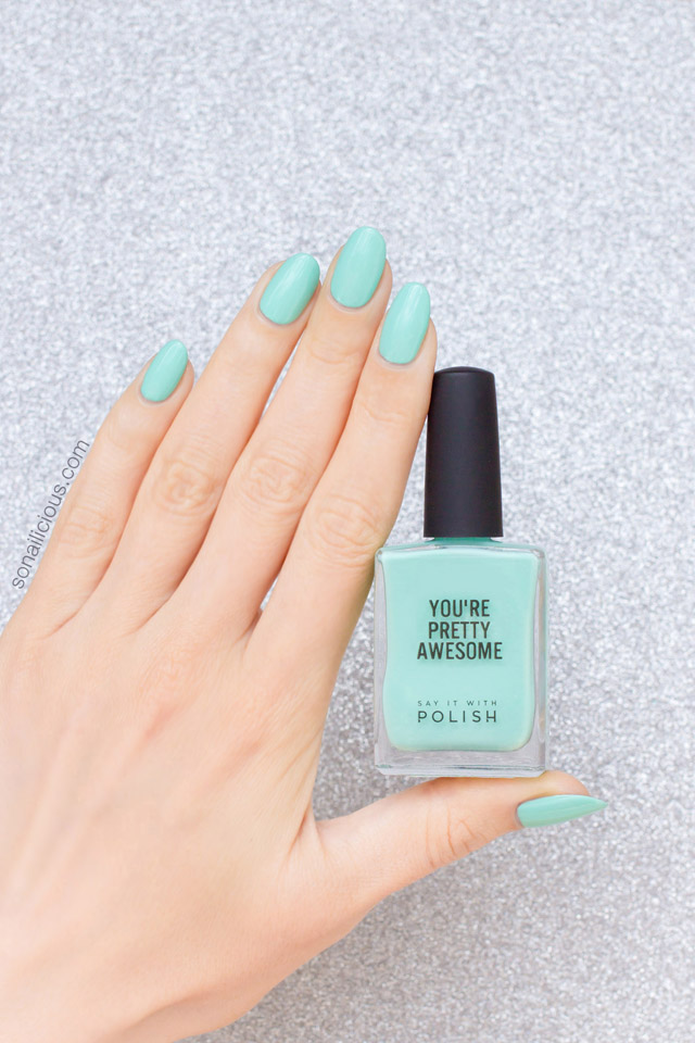 mint nail polish SIWP Hello Sailor