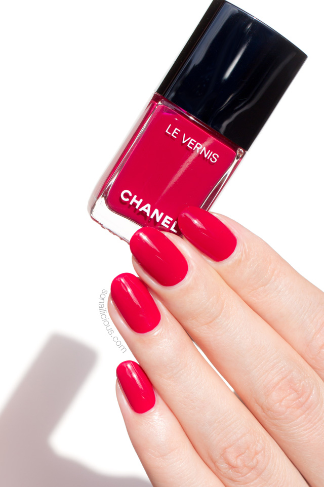 Chanel Shantung Swatch Swatches Le Vernis Polish