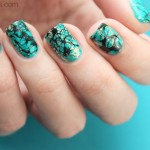 Tutorial: Turquoise Nails