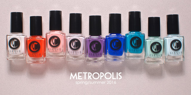 cirque colors metropolish spring nail polish collection