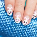Mani Monday: 'The Easter Bunny Stole My Egg'