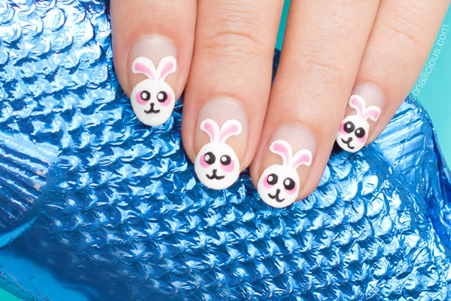 cute easter nails, easter nail designs