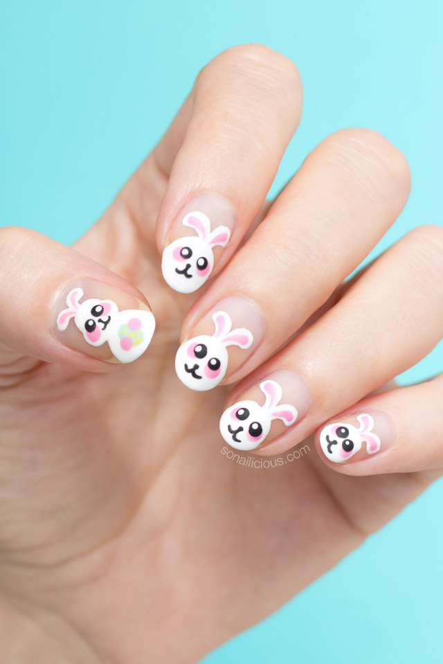 Cute Easter Nails: Easter Bunny Stole My Eggs