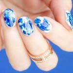 Tutorial: Marble Nail Art