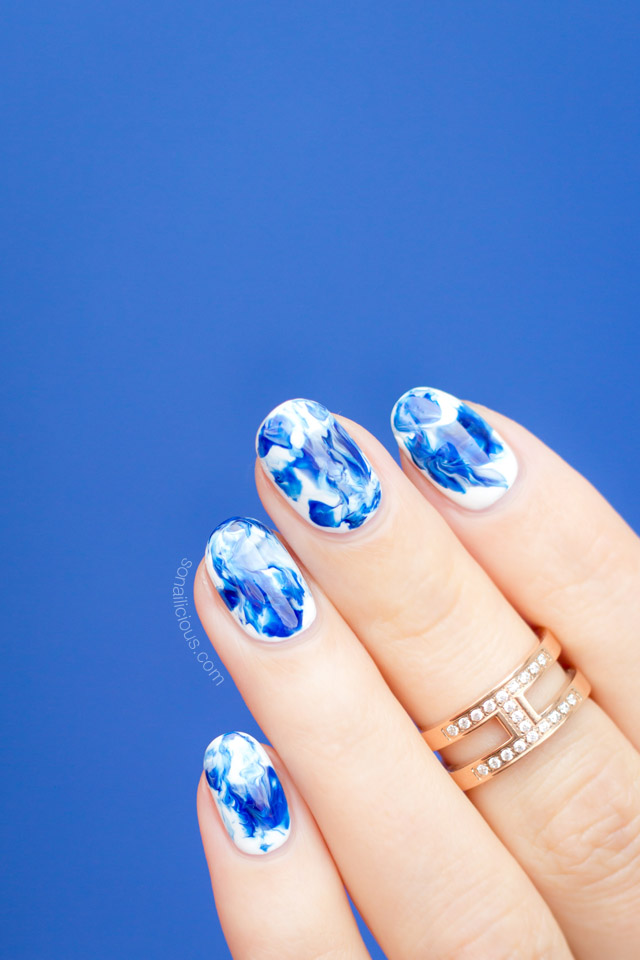 Marble Nail Art [Tutorial]