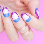 Tutorial: Edgy Spring Nail Art feat. OPI New Orleans