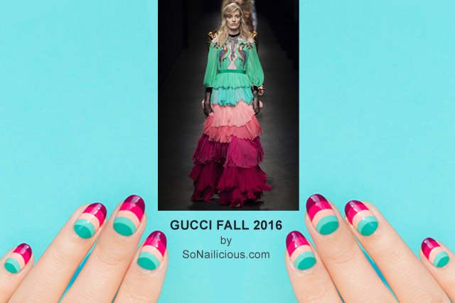 Gucci Nails, NAFW 2016