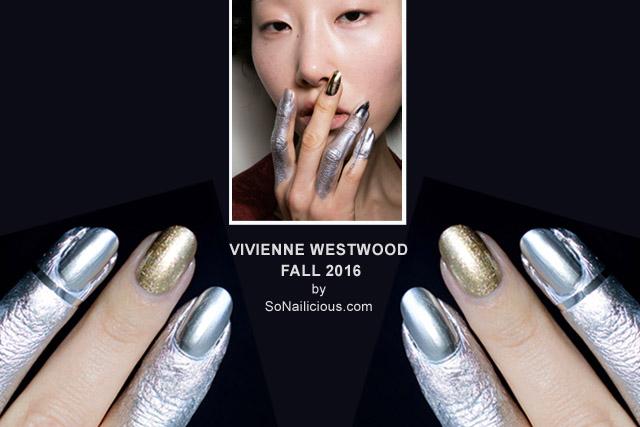 نتيجة بحث الصور عن Vivienne Westwood metallic nail polish