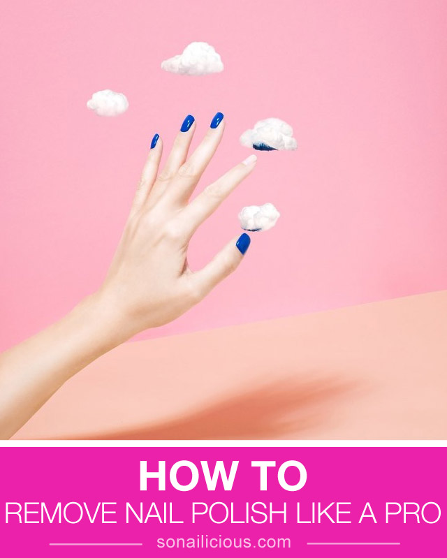 how to remove nail polish, ways to remove nail polish